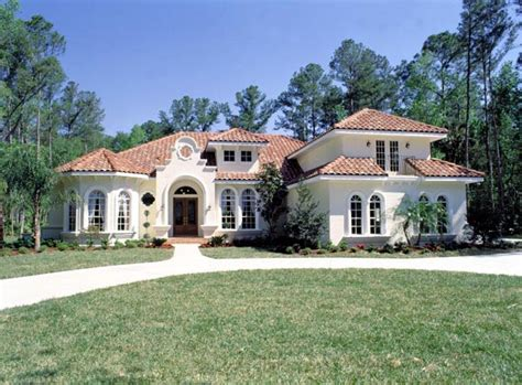 Florida Mediterranean Homes | florida mediterranean house plan 63021