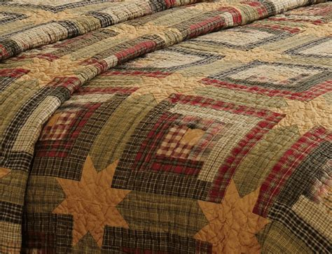 Rustic Quilts Tea Cabin Rustic Quilt By Vhc Brands