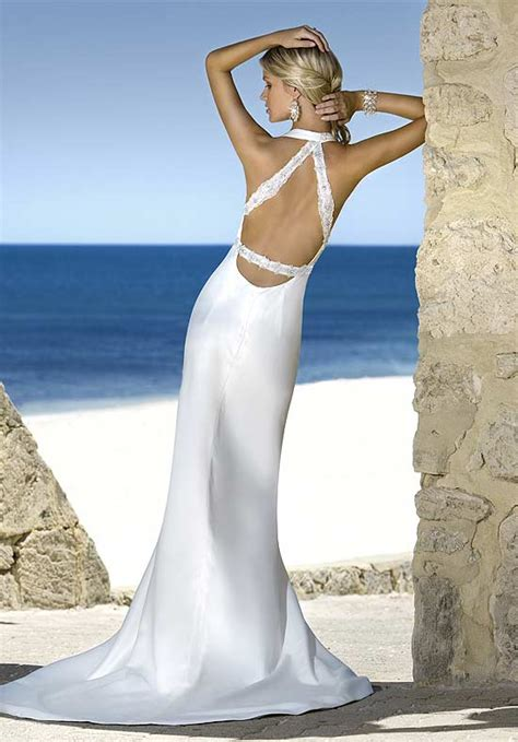strapless beach wedding dresses a style for classy and