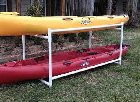 Backyard Kayak Rack Outdoor Storage Racks For Kayaks Outdoor Furniture