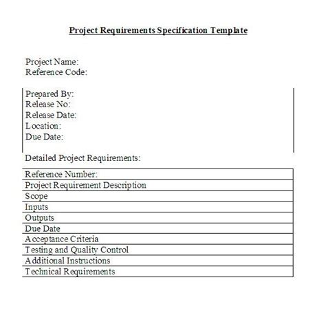 Project Management Requirements Template by Managing Change Requests In Your Projects Innovate Vancouver