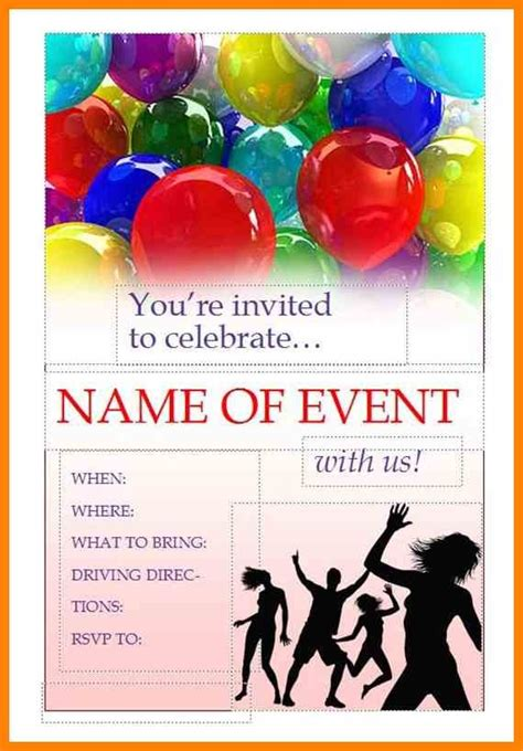templates for event flyers free free printable event flyer templates best template idea
