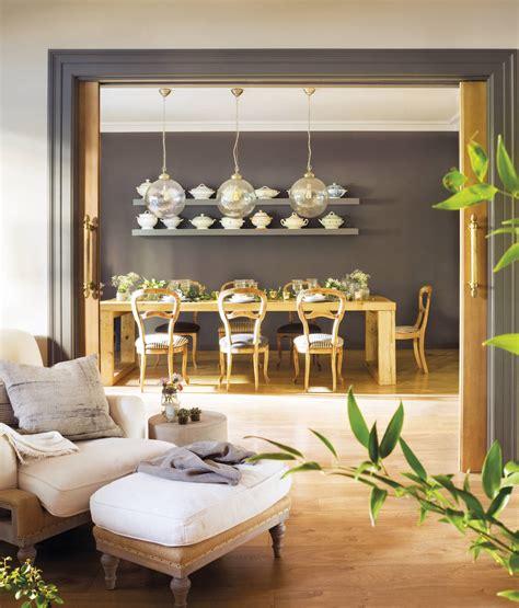 lamparas de techo  salon  comedor modernas ideas