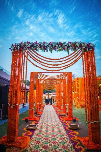 Indian Wedding Entrance Decorations by Indian Wedding Ideas Inspiration Wedding Flower And