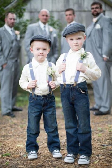 Wedding Attire Ring Bearers by Picture Of Ring Bearer For Rustic Weddings