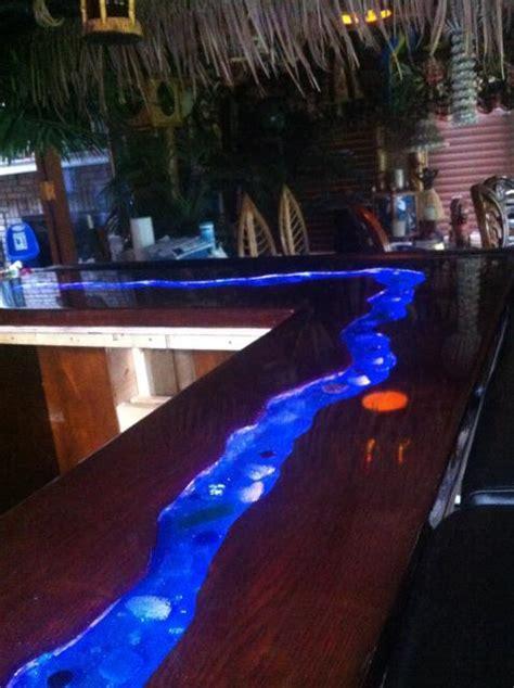 liquid glass bar top a river runs through it my bar top tiki central