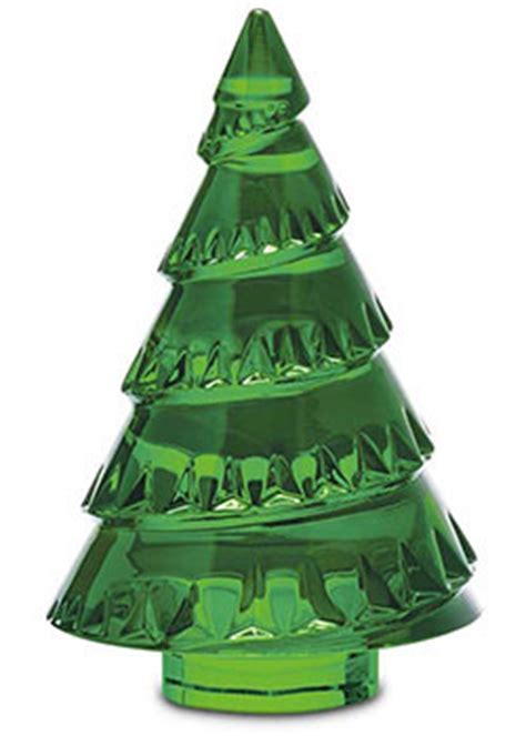 baccarat holiday and religious items christmas trees crystal