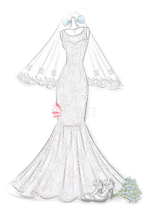 fashion sketch  floral embroidered appliques bateau neck