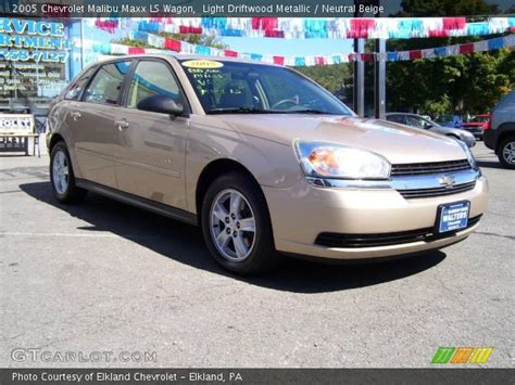 driftwood ls for sale light driftwood metallic 2005 chevrolet malibu maxx ls