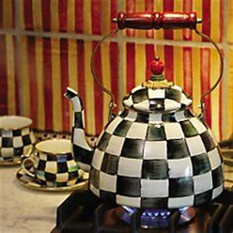 Black And White Checkered Kitchen Ware by 1000 Images About Mackenzie Childs On Tea