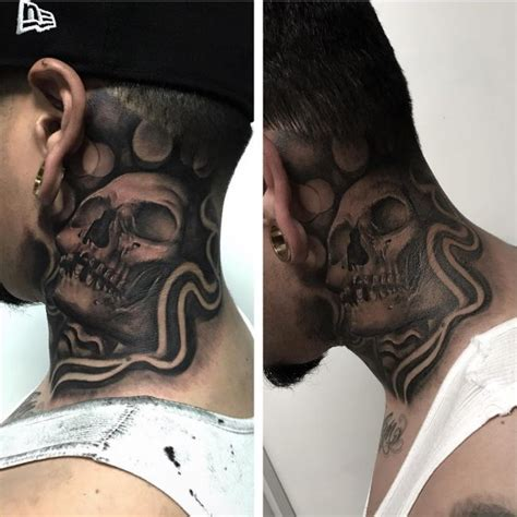 tattoo on neck photos 75 best neck tattoos for men and women designs
