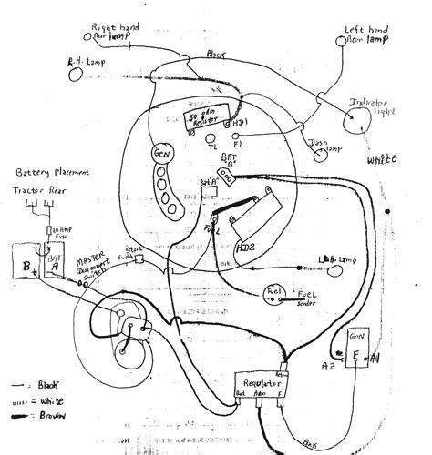 tractor wiring diagrams wiring diagram with description