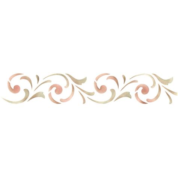 easy pattern stencil designs border stencils simple scroll border stencil royal