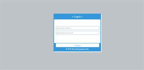 membuat form login dengan php dan css membuat design halaman login dengan css dwi febriandaru site