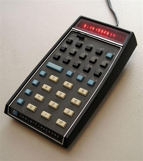 calculator c hp 35 wikipedia