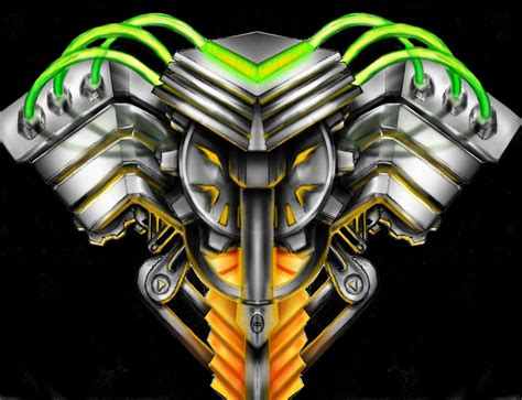 biomechanical motor tattoo biomechanical tattoo engine by neogzus on deviantart