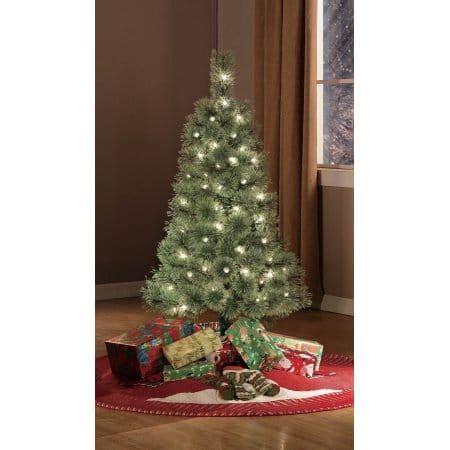 black friday artificial christmas trees black friday deal walmart pre lit 4 artificial tree clear lights 25 00