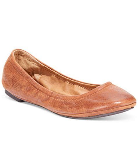 macys flat shoes lucky brand emmie ballet flats flats shoes macy s