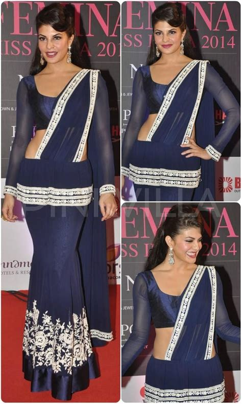 sri lankan actress saree designs 2018 jacqueline fernandez in manish malhotra yay or nay