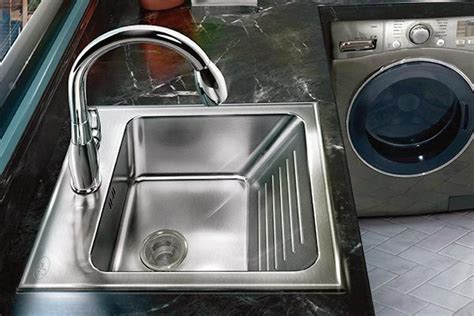 stainless steel drop in laundry sink the 25 best laundry sinks ideas on laundry