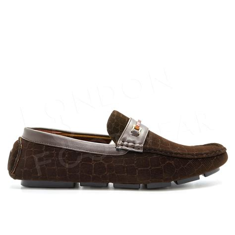 mens italian loafers new mens casual italian loafers slip on moccasins driving