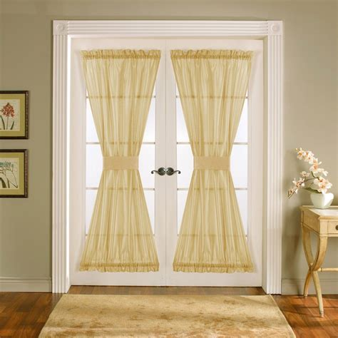 glass door curtain panels window treatments for french doors ideas eva furniture