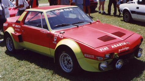 fiat x19 pictures photos information of modification