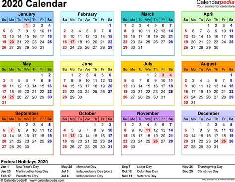 calendar excel calendar printable week