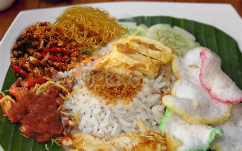 resep nasi uduk betawi asli gurih komplit