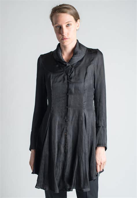 elm design clothes elm by matthildur silk tunic in black santa fe dry goods
