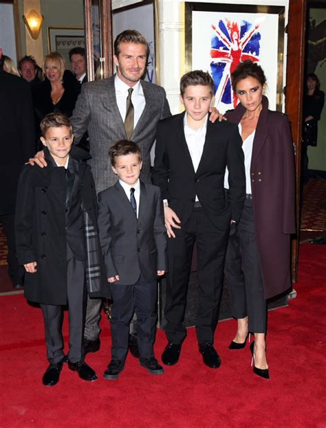 The Beckhams Are by David And Beckham Returning To The Uk