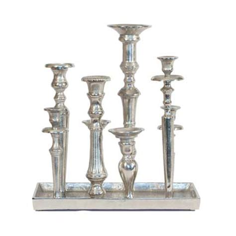 Silver Candle Tray by Silver Candle Tray Rental For Your Wedding Or