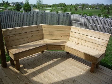outdoor bench seating ideas corner bench for the backyard next to the fire pit