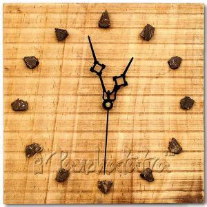 Wall Clocks For Living Room India Wood Base Wall Clock For Living Room Decoration Living