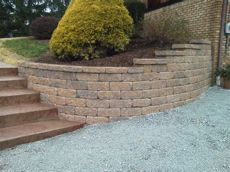 Curved Garden Wall Retaining Wall Gallery Country Farms Inc