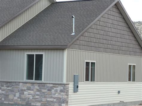 brick and vinyl siding house pictures vinyl siding vinyl shake vertical and horizontal siding aluminum soffit and