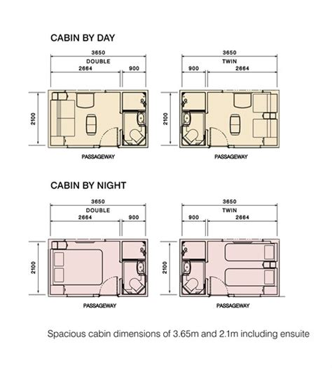 Floor Plans Small Cabins luxury train club the ghan across australia