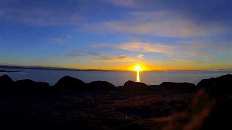 sunset reykjavik reykjavik iceland sunset timelapse youtube