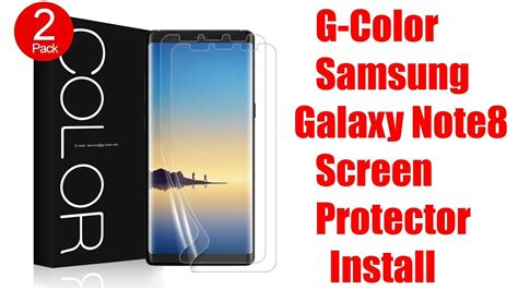 g color unboxing g color applied friendly screen