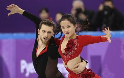 Wardrobe Malfunction At The Olympics - olympics figure skater yura min overcomes wardrobe