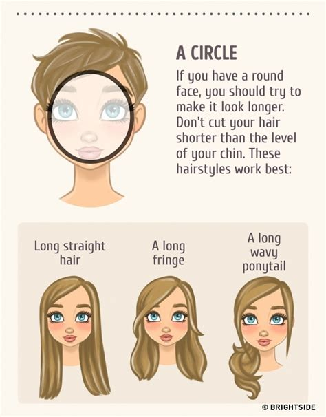 hairstyles match shape how to choose the best hairstyle to match your face
