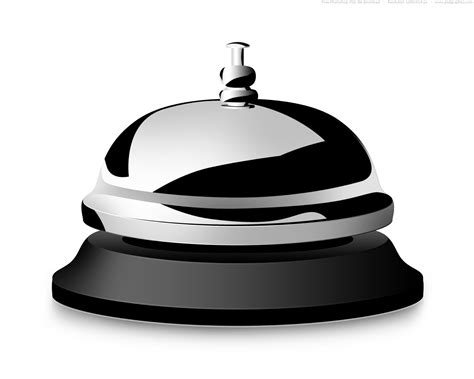 Desk Bell desk bell black and white clipart clipart suggest