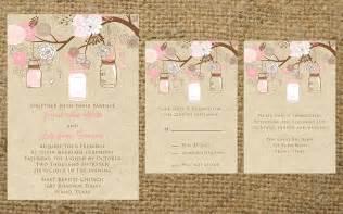 rustic vintage wedding invitations pink rustic wedding invitations