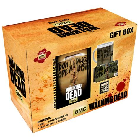 the walking dead gifts the walking dead gift box merchandise zavvi