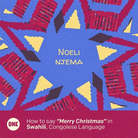 merry christmas   african languages
