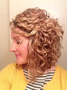 17 Best Ideas About Curly Inverted Bob On Pinterest