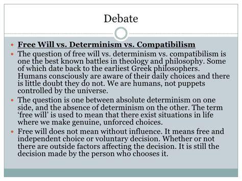 Free Will Vs Determinism Essay by Free Will Vs Determinism Reportd731 Web Fc2