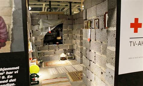 ikea syrian refugees ikea recreates syrian home inside their store in efforts to aid refugee crisis archdaily