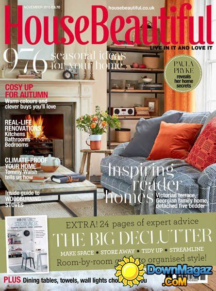 home decorating magazines uk house beautiful uk november 2015 187 download pdf
