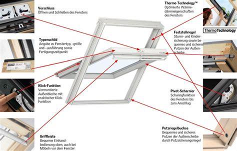 Velux Dachfenster öffnen 6285 by Technische Details F 252 R Velux Schwingfenster